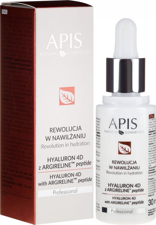 Sérum na tvár - APIS Professional Hyaluron 4D + Argireline Peptide