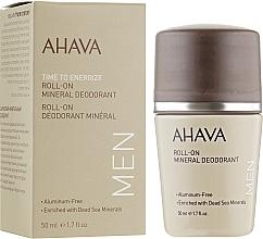 Voňavky, Parfémy, kozmetika Pánsky dezodorant - Ahava Time To Energize Magnesium Rich Deodorant Roll-On