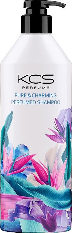 Parfumovaný šampón pre suché a poškodené vlasy - KCS Pure & Charming Perfumed Shampoo