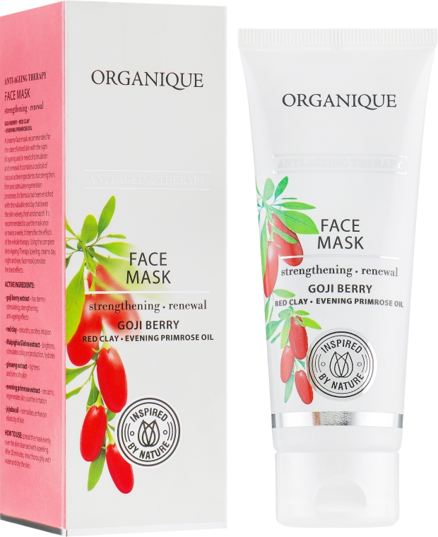 "Maska na tvár ""Anti-Ageing"" - Organique Goji Anti-Ageing Therapy Face Mask — Obrázky N1"