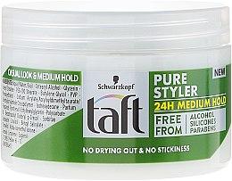 Gél pre styling vlasov - Schwarzkopf Taft Pure Styler Medium Hold — Obrázky N2