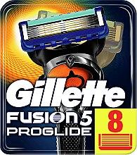 Voňavky, Parfémy, kozmetika Pánske náhradné hlavice na holenie, 8 ks - Gillette Fusion ProGlide