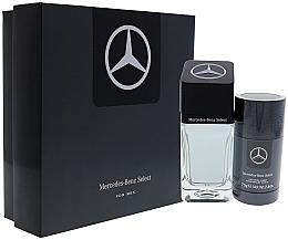 Voňavky, Parfémy, kozmetika Sada - Mercedes Benz Select Gift Set (edt/100ml + dst/75ml)