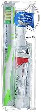 Voňavky, Parfémy, kozmetika Cestovná sada pre ústnu hygienu - White Glo Travel Pack (t/paste/24g + t/brush/1 + t/pick/8)