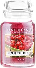 Voňavky, Parfémy, kozmetika Vonná sviečka v pohári - Yankee Candle Black Cherry