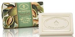 """Voňavky, Parfémy, kozmetika Prírodné mydlo """"Mandle"""" - Saponificio Artigianale Fiorentino Almond Scented Soap"""