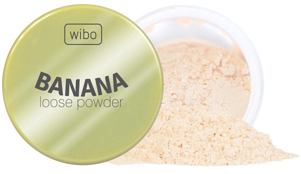 Banánový púder na tvár - Wibo Banana Loose Powder