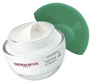 Upokojujúci a hydratačný krém s konopným olejom - Dermacol Cannabis Hydrating Cream — Obrázky N4