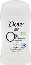 Voňavky, Parfémy, kozmetika Dezodorant v tyčinke - Dove Original 0% Aluminium Salts Deodorant