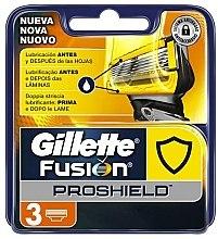 Voňavky, Parfémy, kozmetika Náhradné holiace kazety, 3 ks. - Gillette Fusion ProShield