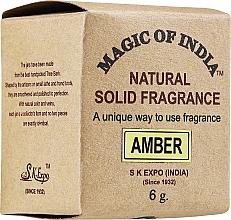 """Voňavky, Parfémy, kozmetika Prírodný parfumovaný krém """"Amber"""" - Shamasa"""