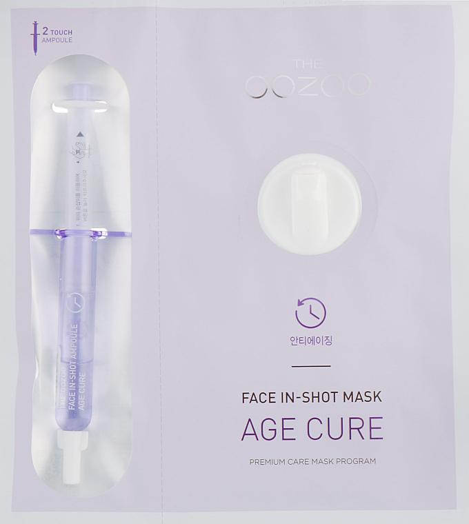 Koncentrovaná maska s liftingovým účinkom - The Oozoo Face Face In-Shot Mask Age Cure — Obrázky N1
