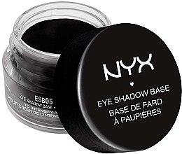 Voňavky, Parfémy, kozmetika Základ pod tiene čierny - NYX Professional Makeup Eyeshadow Base Black