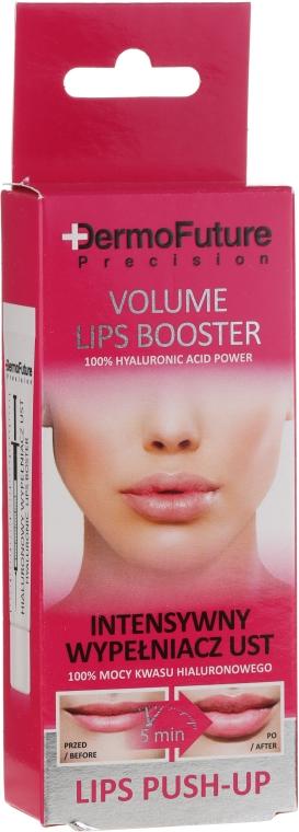 Intenzívny hyaluronický maximalizátor pier - DermoFuture Volume Lips Booster