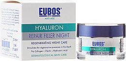 Voňavky, Parfémy, kozmetika Krém na tvár, nočný - Eubos Med Anti Age Hyaluron Repair Filler Night Cream