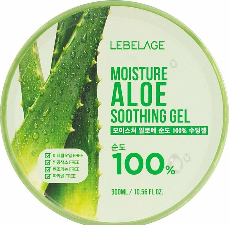 Hydratačný gél s aloe - Lebelage Moisture Aloe 100% Soothing Gel