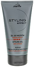 Voňavky, Parfémy, kozmetika Stylingový gél na vlasy super silnej fixácie - Joanna Styling Effect Styling Gel Very Strong