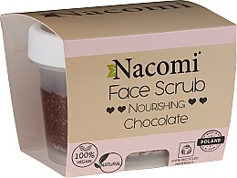 Voňavky, Parfémy, kozmetika Hydratačné peeling na tvár a pery - Nacomi Moisturizing Face&Lip Scrub Chocolate