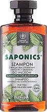 "Šampón na vlasy ""Žihľava a mydlica"" - Farmona Saponics Shampoo with Natural Soapwort and Nettle Leaf Extracts — Obrázky N1"