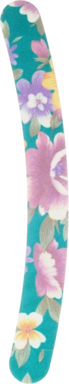 Pilník na nechty 7453, zelený s kvetmi - Top Choice — Obrázky N1