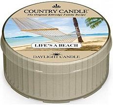 Voňavky, Parfémy, kozmetika Čajová sviečka - Country Candle Life's A Beach Daylight