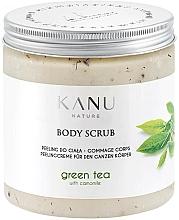 """Voňavky, Parfémy, kozmetika Scrub na telo """"Zelený čaj"""" - Kanu Nature Green Tea Body Scrub"""