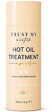 Voňavky, Parfémy, kozmetika Olej na vlasy so strednou pórovitosťou  - Trust My Sister Medium Porosity Hair Hot Oil Treatment