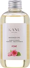 """Voňavky, Parfémy, kozmetika Masážny olej """"Ruža"""" - Kanu Nature Rose Massage Oil"""