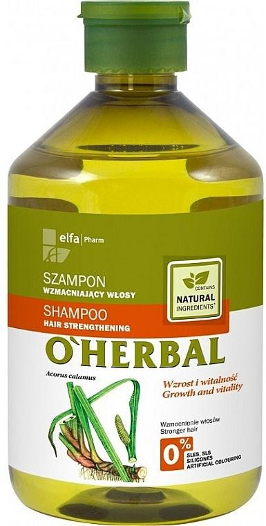 Šampón pre posilnenie vlasov s extraktom korení puškvorca - O'Herbal