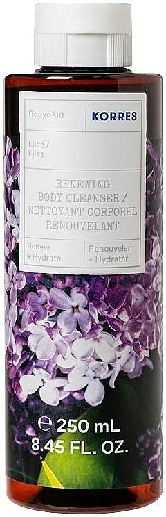 Regeneračný sprchový gél Orgován - Korres Lilac Renewing Body Cleanser — Obrázky N1