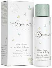 "Voňavky, Parfémy, kozmetika Detské telové maslo pre matky a deti ""Sladké sny"" - Little Butterfly London Fall Into Dreams Mother & Baby Massage Oil"