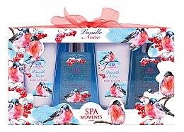 Voňavky, Parfémy, kozmetika Sada - Spa Moments Vanille Noire (sh/gel/100ml+sh/gel/100ml+b/lot/60ml+b/lot/60ml)