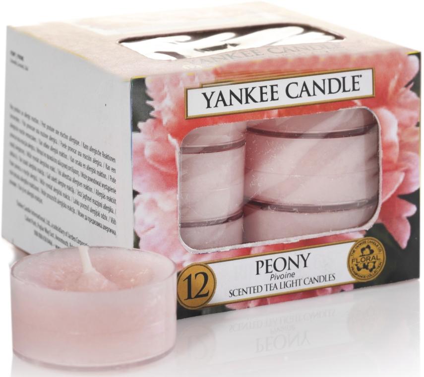Čajové sviečky - Yankee Candle Scented Tea Light Candles Peony — Obrázky N1