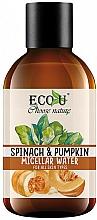"""Voňavky, Parfémy, kozmetika Micelárna voda """"Tekvica a špenát"""" - Eco U Pumpkins And Spinach Micellar Water"""