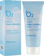 Kyslíková pena na umývanie - FarmStay O2 Premium Aqua Foam Cleansing — Obrázky N1