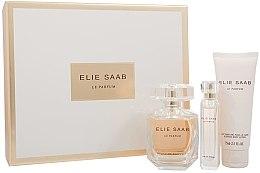 Voňavky, Parfémy, kozmetika Elie Saab Le Parfum - sada (edp/90ml + b/lot/75ml + edp/10ml)