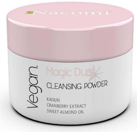 Čistiaci púder na tvár pre suchú pokožku - Nacomi Face Cleansing & Brightening Powder Magic Dust