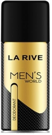 La Rive Men's World - Deodorant