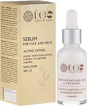 """Voňavky, Parfémy, kozmetika Sérum na tvár a krk """"Aktívny lifting """" - ECO Laboratorie Natural & Organic"""