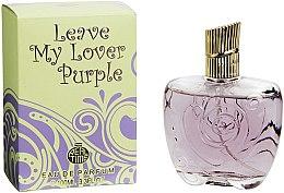 Voňavky, Parfémy, kozmetika Real Time Leave My Lover Purple - Parfumovaná voda