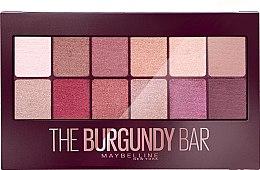 Voňavky, Parfémy, kozmetika Paleta tieňov na viečka - Maybelline The Burgundy Bar Palette