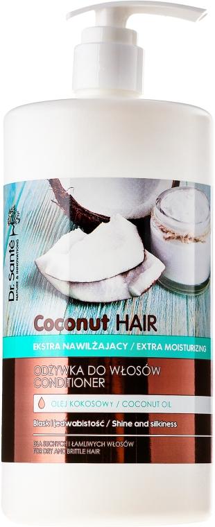 """Balzam na vlasy """"Lesk a hodvábnosť"""" - Dr. Sante Coconut Hair — Obrázky N3"""