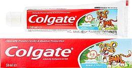Voňavky, Parfémy, kozmetika Detská zubná pasta pre deti 2-3 roky - Colgate Toddler Bubble Fruit Anticavity Toothpaste For 2-5 Years Kids