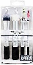 Voňavky, Parfémy, kozmetika Sada štetcov na prípravu a nanášanie make-upu - Real Techniques by Sam and Nic Prep + Prime Set
