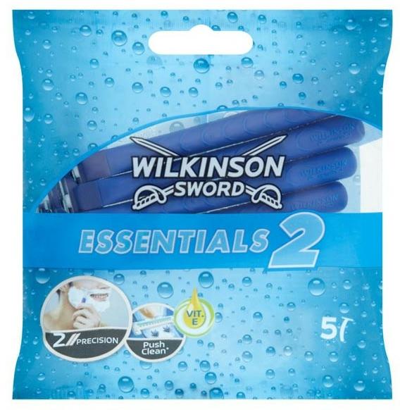 Sada jednorazových holiacich strojčekov - Wilkinson Sword Essentials 2 — Obrázky N1