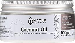 Voňavky, Parfémy, kozmetika Kokosový olej, nerafinovaný - Natur Planet Coconut Oil