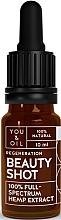 Voňavky, Parfémy, kozmetika Regeneračné sérum na tvár - You & Oil Beauty Shot Hemp Extract