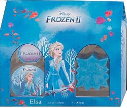 Voňavky, Parfémy, kozmetika Disney Frozen II Elsa Gift Set - Sada (edt/50ml + soap/50g)