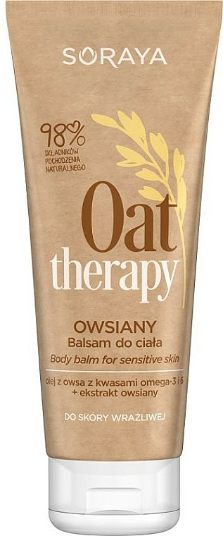 Balzam na telo s extraktom z ovsa - Soraya Oat Therapy Body Balm — Obrázky N1