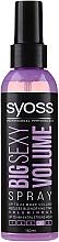 Voňavky, Parfémy, kozmetika Sprej pre styling vlasov - Syoss Big Sexy Volume Blow Dry Spray